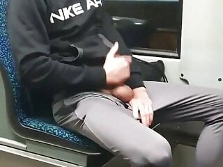 Anon shows me his cock on the subway – how nice of him