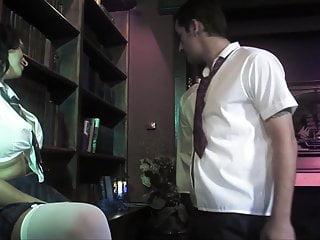 Krasser Vierer in der Bibliothek meines Opas