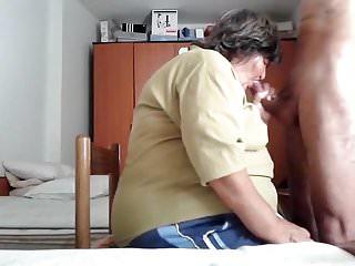 Job from bbw granny...