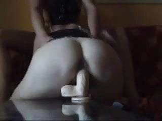 Huge Nordic Penis Dildo shagged by Pakistani Arse Begum