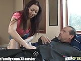 Old Man and Young Girl Anal and Facial
