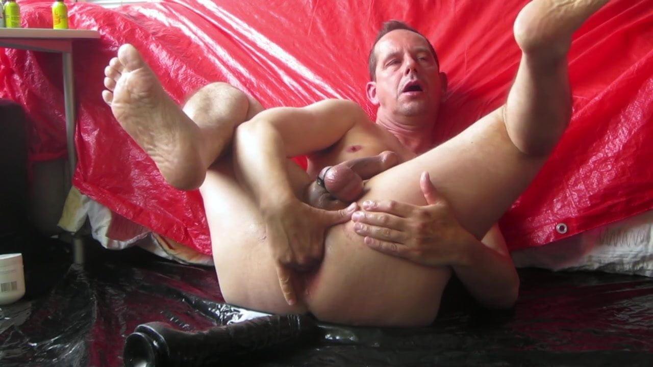 Hot Handjob Cumshot By Milf Shaving Her Husbands Balls Handjob