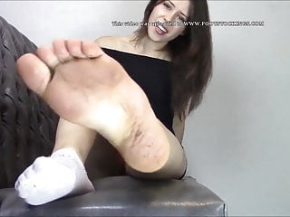 If You want to worship my feet You have to suck cock for me