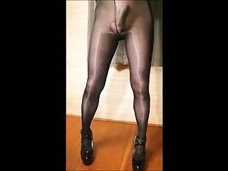 Pantyhose crossdresser in Sissy Photos