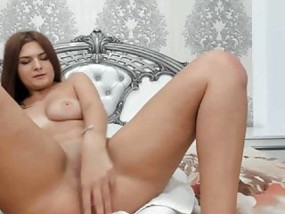 Romanian girl playing with pussy