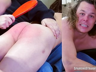 Surfer spanked otk by a man...