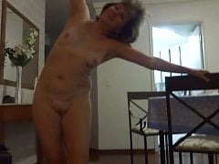 Granny showing off