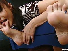 Jana Cova tickling 3