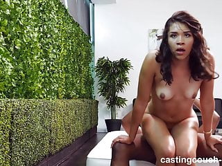 Exotic girl meets black cock...