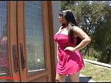 asian fat girl big tits gets big black dick