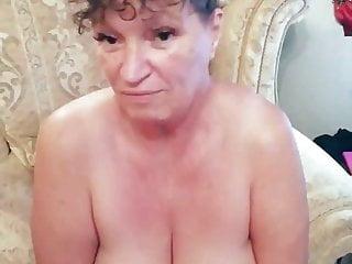 Gilf British Teasing Busty Grandma BBC