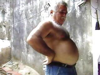 hairy grandpa bear