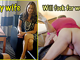 My wife will fuck for work