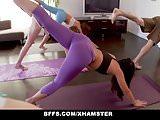 BFFS - Yoga Best Freinds Fuck During Class