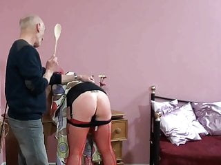 Spanking Hd Videos video: Welsh Beauty Bend Over