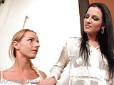 Euro MILF and Teen Lesbian Toy Each other