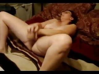 Masturbating while watching porn...