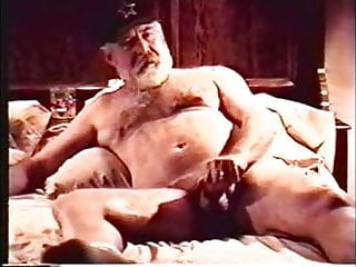 Gay chubby older bear grandpa fireside fantasy...