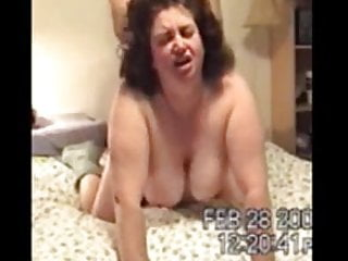Mature BBW Quickie Fuck From Behind