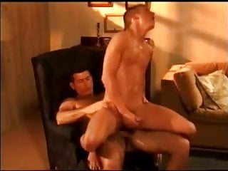 Hunk Daddy Seduces His Sons Hot Teen Friends Into Fucking