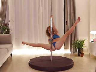 Webcam Girl Stripper Pole