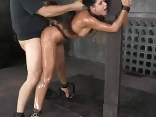 Hot fucked tied mercilessly  and MILF