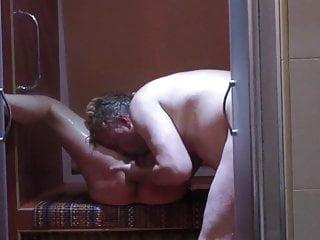 Arab whore fucked in wet room...
