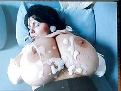 MILENA V get her huge tits creamed