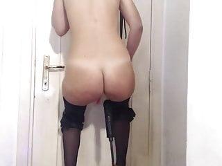 Blonde fuck in heels and swing...