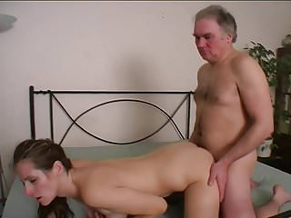 Horny fucks young chick 15...