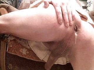 Closeup Asscunt Stretch & Creampie!