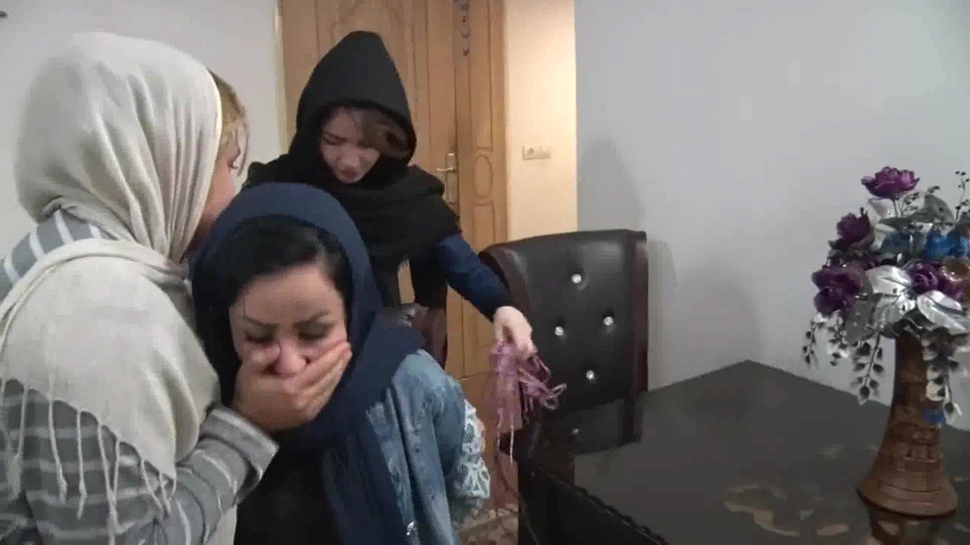 Arabic woman's group sex