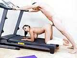 TeamSkeet - Big Tit Teen Fucked on Treadmill