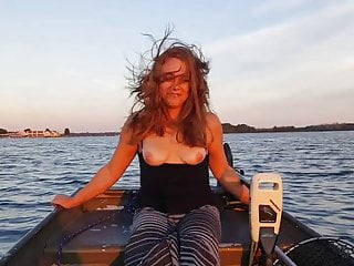 Topless Boating!