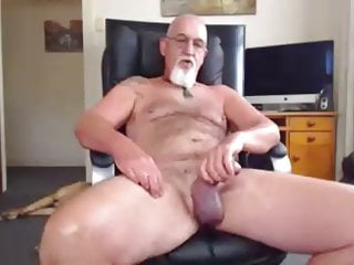 Man showing feet and cock...