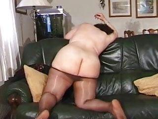 Chubby grandma...