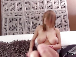 viola bailey fingering and dildoing on white sofa