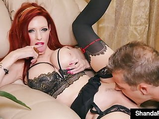 Wonderful Wife Shanda Fay Creams Her Cunt On Hubby!