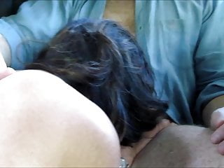Wife gives handjob in car to stranger.
