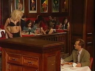 An restaurant orgy...