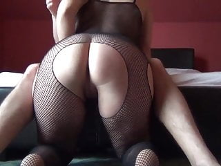 Spanking catsuit than fuck...