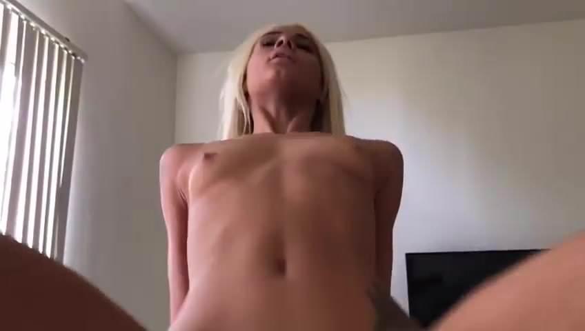 Skinny Russian Blonde Creampie