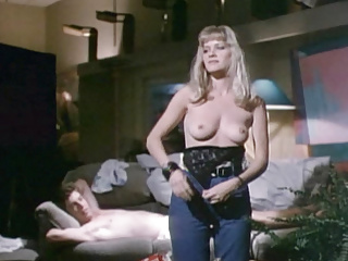 Barbara crampton chopping mall movie...