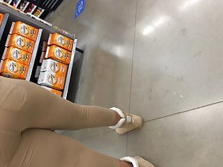 Khaki Brown Leggings in Checkout line