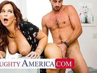 Naughty America – Syren De Mer gets young cock