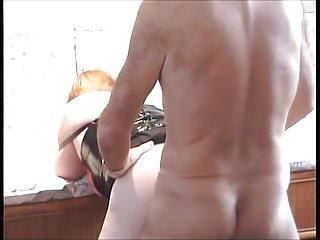 Sexy legs doggy style fuck