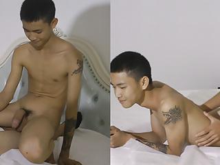 Cute slimasian straight nude guys...