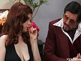 Sweet Redhead MILF Face Fucked With Facial