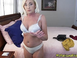 Pov Blowjob Creampie video: Mommy Cums Around to Her Son's Way of Thinking