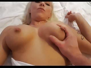 German Novice Blonde fucked point of view via Callboy
